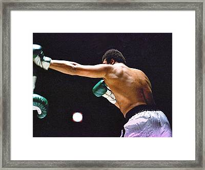 Cassius Clay Framed Print