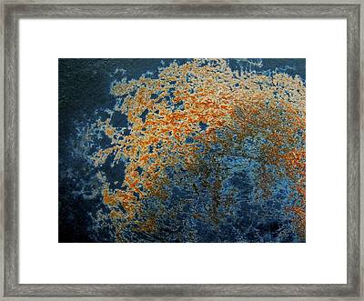 Cast Iron Nebula Framed Print