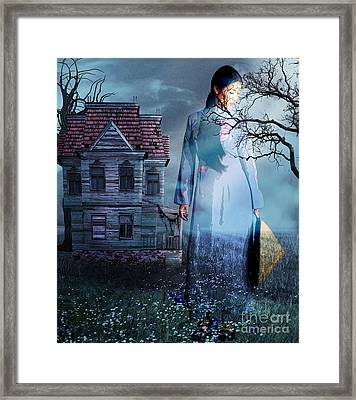 Cast Out  Framed Print by Tammera Malicki-Wong