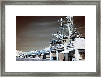 Framed Print featuring the photograph Castaway Cove by John Rizzuto