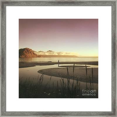 Castaway Framed Print by Mariko Klug