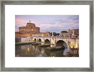 Castel Sant'angelo Framed Print by Andre Goncalves