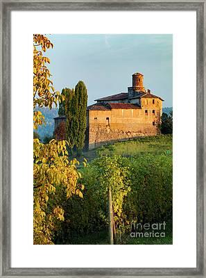 Castello - Barolo Framed Print by Brian Jannsen