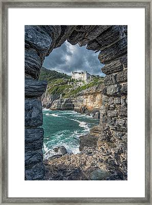 Castello Doria Framed Print
