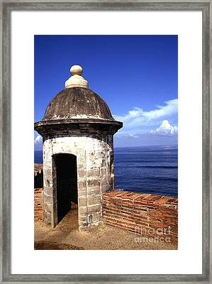 Castillo De San Cristobal Framed Print by Thomas R Fletcher