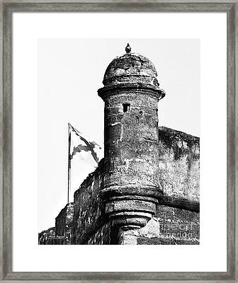 Castillo Lookout Framed Print by Addison Fitzgerald