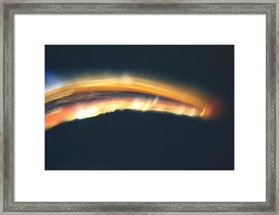 Casting Light Framed Print