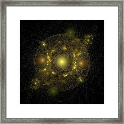 Framed Print featuring the digital art Casting Nets For Pearls by Richard Ortolano