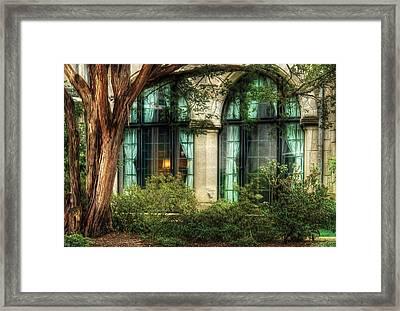 Castle - The Castle Windows Framed Print