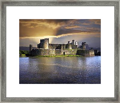 Castle At Dawn Framed Print