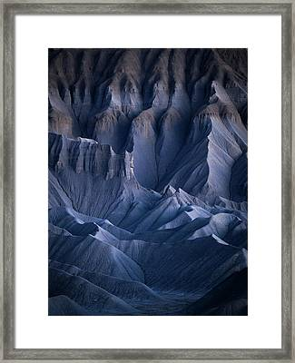 Castle Blue Framed Print by Dustin LeFevre