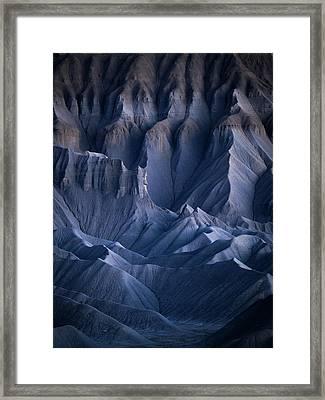 Castle Blue Framed Print