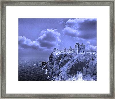 Castle Blue Framed Print