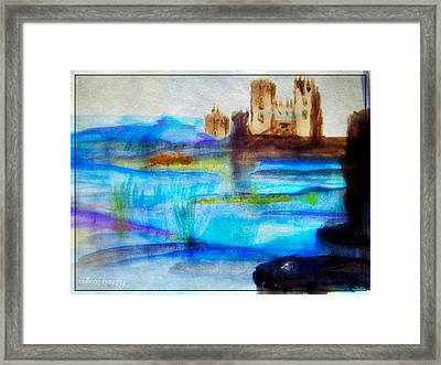 Castle By Colleen Ranney Framed Print