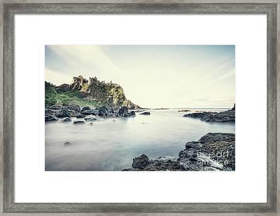 Castle By The Sea Framed Print by Evelina Kremsdorf