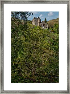 Castle Campbell In Central Scotland Framed Print by Jeremy Lavender Photography