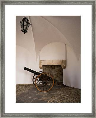 Castle Canon Framed Print by Rae Tucker
