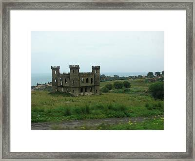 Castle Catania Sicily Framed Print