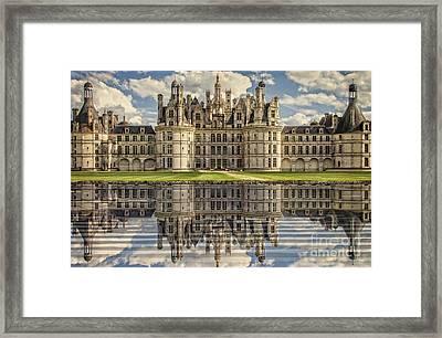 Castle Chambord Framed Print
