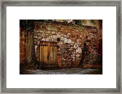 Castle Doors Framed Print