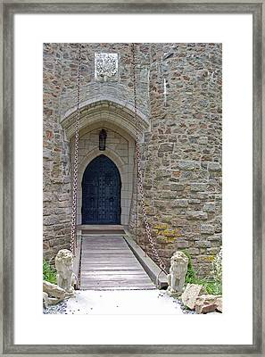 Castle Entrance Framed Print by Suzanne Gaff