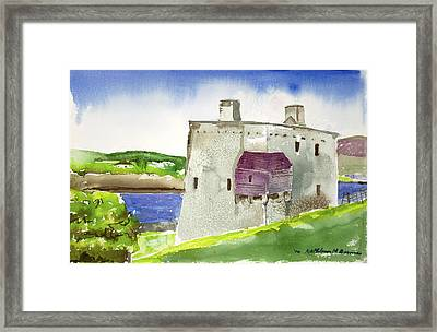 Castle From The Hill Framed Print