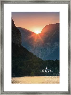 Castle Grub In Austria Framed Print