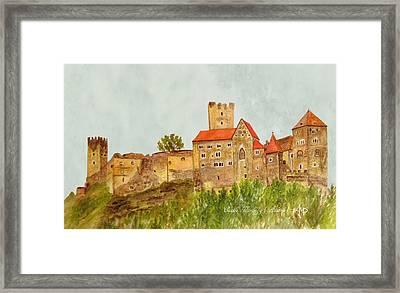 Castle Hardegg Framed Print