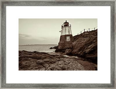 Framed Print featuring the photograph Castle Hill by Andrew Pacheco