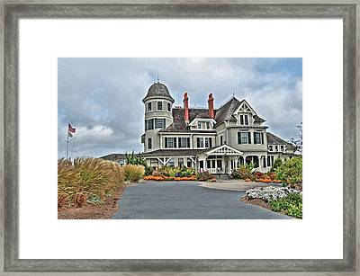 Castle Hill Inn Framed Print