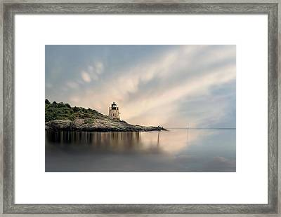 Castle Hill Light Framed Print by Robin-Lee Vieira