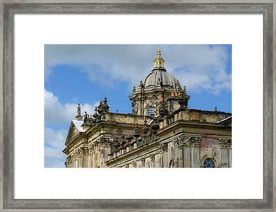 Castle Howard Roofline Framed Print