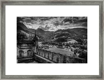 Castle II Hdr Framed Print by Michele Mule'