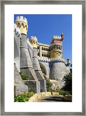 Castle In Color Framed Print