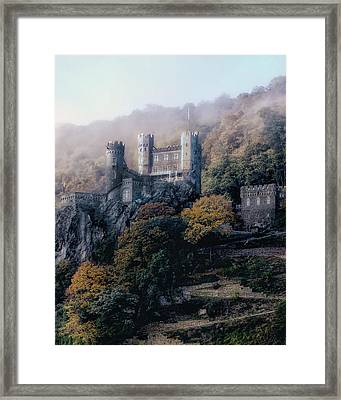 Castle In The Mist Framed Print