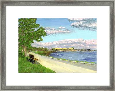 Castle Island - Summer Framed Print