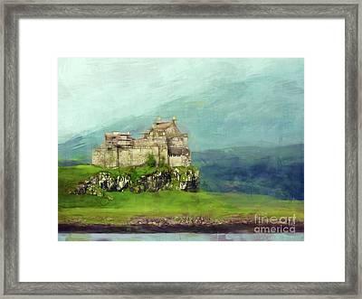 Castle, Isle Of Mull Framed Print by Judi Bagwell