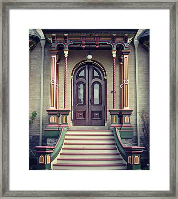 Castle Kilbridge Entrance Framed Print by Cyryn Fyrcyd