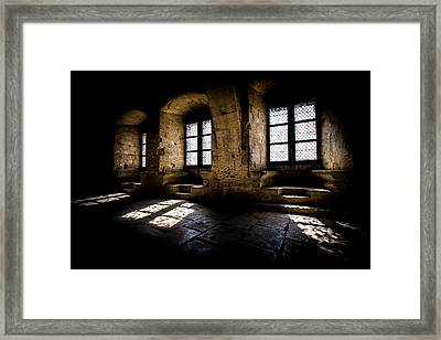 Framed Print featuring the photograph Castle Light by Jason Smith