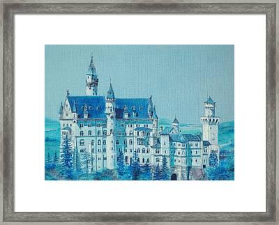 castle Neuswanstein Framed Print by Radchenko Julia