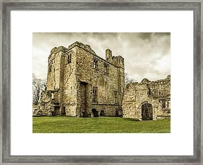 Castle Of Ashby Framed Print