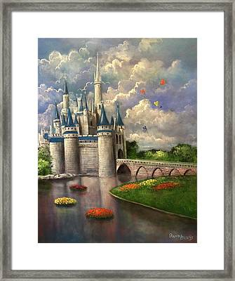 Castle Of Dreams Framed Print