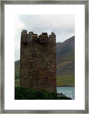 Castle Of The Pirate Queen Framed Print