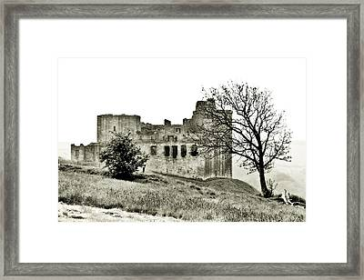 Castle On High Framed Print by Linde Townsend