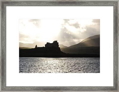Castle On Scotland's Inner Hebridean Islands Framed Print by Kelsey Horne