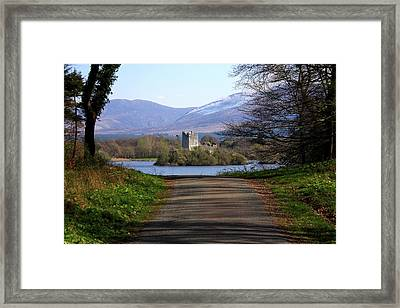 Castle On The Lakes Framed Print