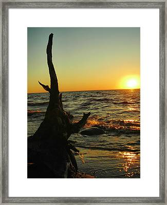 Castle On The Watch Framed Print by Peter Mowry