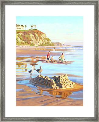 Castle Raiders Framed Print
