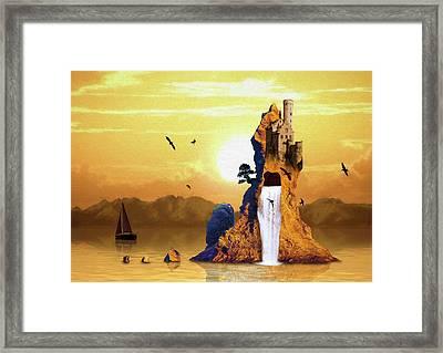 Castle Rising Framed Print