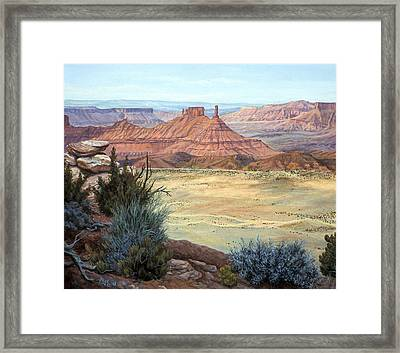 Castle Rock Iv Framed Print